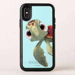 OtterBox Apple iPhone X Symmetry Case with Cute baby sea turtle Squirt of Finding Nemo design