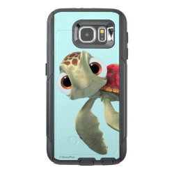 OtterBox Commuter Samsung Galaxy S6 Case with Cute baby sea turtle Squirt of Finding Nemo design