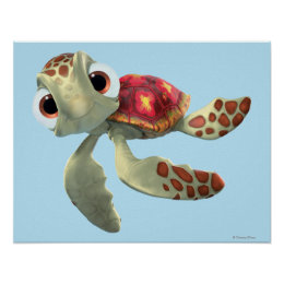 Finding Nemo   Squirt Floating Poster