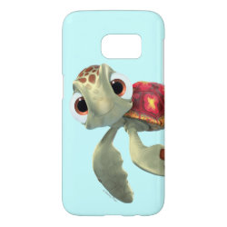 Case-Mate Barely There Samsung Galaxy S7 Case with Cute baby sea turtle Squirt of Finding Nemo design