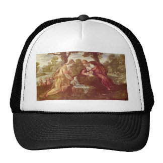 Finding of Moses by Giovanni Battista Tiepolo Mesh Hats