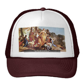 Finding Of Moses By Tiepolo Giovanni Battista Trucker Hat