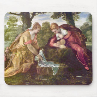 Finding of Moses by Tintoretto Mouse Pad