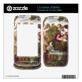 Finding of Moses by Tintoretto Decal For LG Vortex