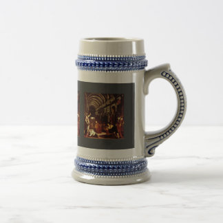 Finding Of The Body Of St. Mark By Tintoretto Jaco 18 Oz Beer Stein