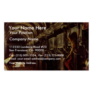 Finding Of The Body Of St. Mark By Tintoretto Jaco Double-Sided Standard Business Cards (Pack Of 100)