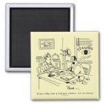 Finding Relatives 2 Inch Square Magnet