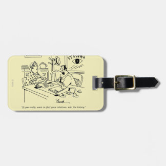 Finding Relatives Luggage Tag