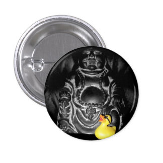 'Finding Spirituality' Rubber Duck Button (small)