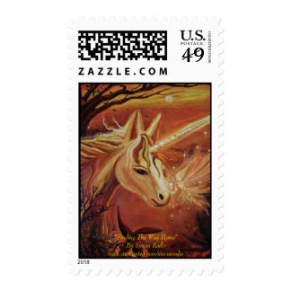 Finding The Way Home - Unicorn & Fairy Art Stamps
