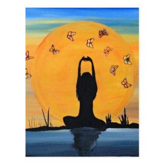 Finding your Zen Postcard