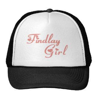 Findlay Girl tee shirts Trucker Hats