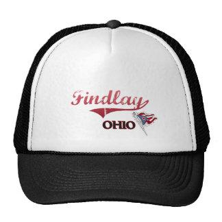 Findlay Ohio City Classic Trucker Hats