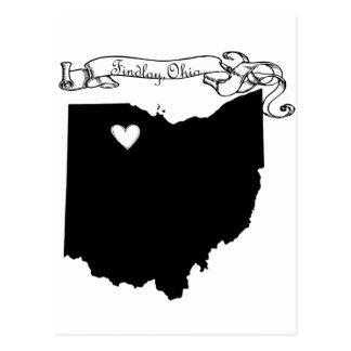 Findlay Ohio Postales