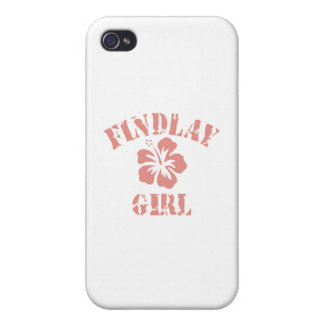 Findlay Pink Girl Cases For iPhone 4