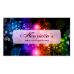 Fine Abstract Cool Cute Girly Retro Fashion Double-Sided Standard Business Cards (Pack Of 100)