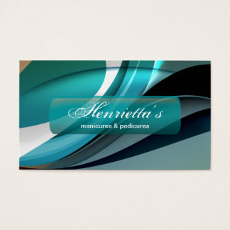Fine Abstract Cool Cute Girly Retro Fashion Business Card