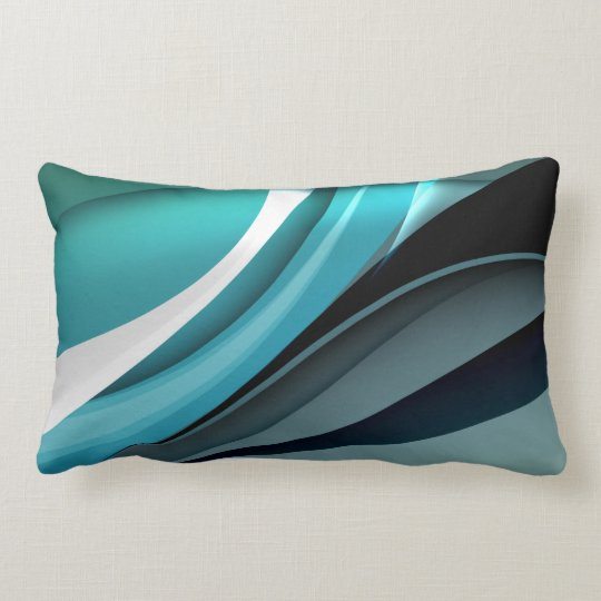 Fine Abstract Cool Cute Girly Retro Fashion Lumbar Pillow