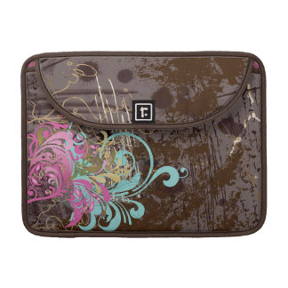 Fine Abstract Cool Cute Girly Retro Fashion MacBook Pro Sleeve