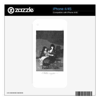 Fine advice by Francisco Goya Skins For The iPhone 4
