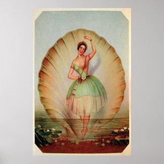 Fine Art 1843 ~ Ballerina's Magical Moment Posters