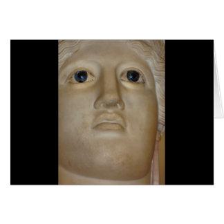 Fine Art Ancient Statue Roman Goddess Card