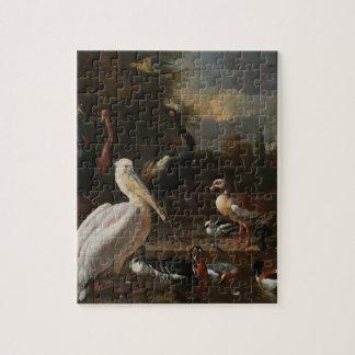 Fine art birds puzzles