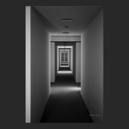 Fine Art black and white - An Invitation Posters