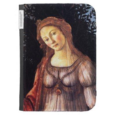 Fine Art Botticelli Personalized Kindle Case
