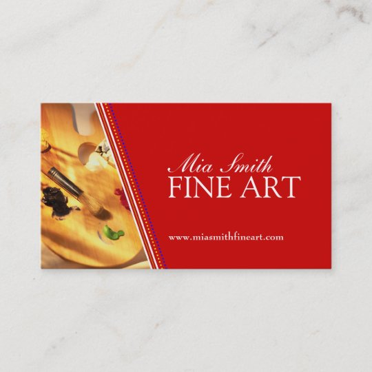 Fine Art Business Cards Zazzle