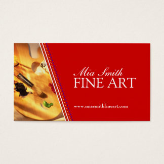 Fine Artist Business Cards & Templates | Zazzle