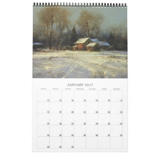 Calendar Fine Art : Fine art calendar zazzle