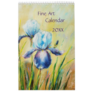 Fine Art calendar 2018 seasons