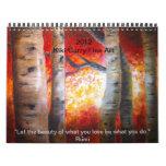 Fine Art Calender by Kiki Curry   2012 Calendar