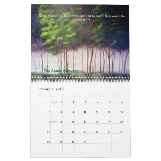 Fine Art Calender by Kiki Curry   2012 Calendar