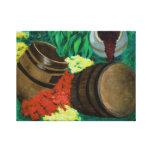 Fine Art Canvas Print : Garden Accent