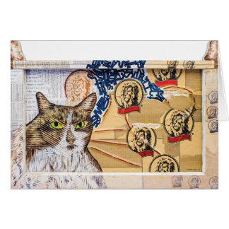 Fine Art Cat Card, Timmy Card