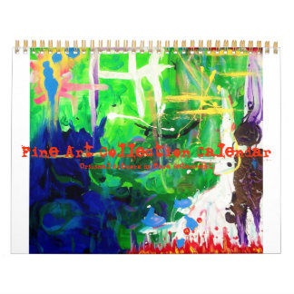 Fine Art Collection Calendar