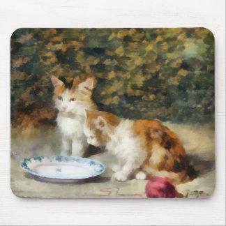 Fine Art Cute Kittens Mousepad
