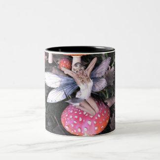 Fine Art Fairy Mug - Cute Fairy - Early One Mornin
