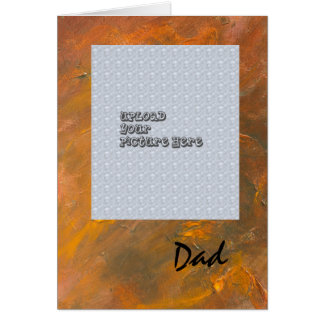 Fine Art Father's Day Template Card
