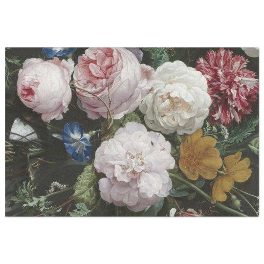Fine Art Floral Decoupage Paper