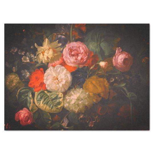 Fine Art Floral Tissue Paper