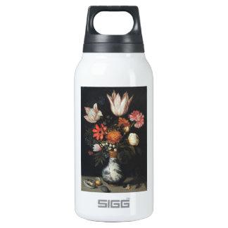 Fine Art Flower Painting Ambrosius Bo Insulated Water Bottle