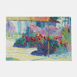 """Fine Art Garden 24"""" x 36"""" Door Mat"""