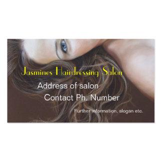 Fine Art Hairdressing salon Business Cards