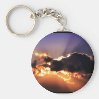 Fine art keychain