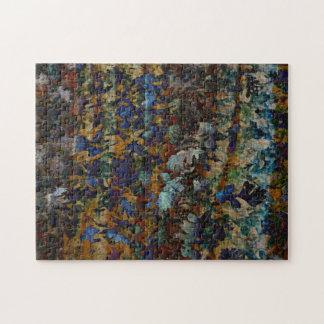 Fine Art Leaves Puzzle