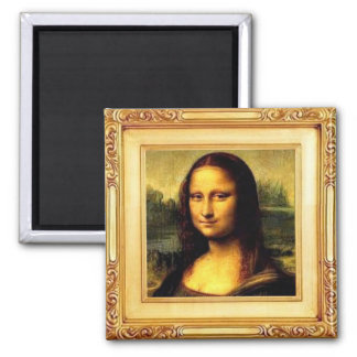 Fine Art Magnet - Mona Lisa by Leonardo da Vinci