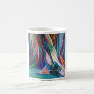 Fine Art Mug Oak Roots EvelynMcCPeters Art